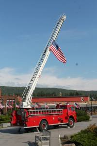 Thank you to the American Legion and Grand Marais Fire Department for this beautiful tribute to those lost and the heroes of 9/11.