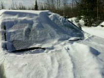 Yes, my car is under there somewhere!