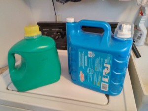 laundry jugs